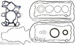 Ford 6.0 Powerstroke Diesel Kit Piston + Anneaux + Roulements + Joint 04-06 With18mm