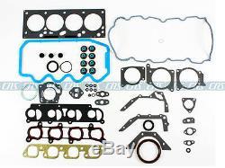 Ford Focus 2.0l Sohc Pleine De Joints Boulons Pistons Anneaux Roulements Moteur Kit 6pc