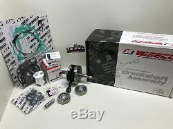 Honda Cr 250r Wiseco Engine Rebuild Kit, Vilebrequin, Pistons, Joints D'étanchéité 1992-1996