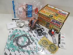 Honda Crf 450r - Kit Complet De Reconstruction De Moteur - Vilebrequin, Piston 2002-2008