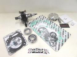 Honda Crf 450r Wiseco Kit De Reconstruction De Moteur Vilebrequin, Piston Et Joint 2002-2008