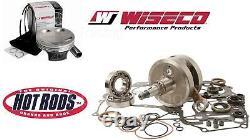 Honda Crf450r 02-05 Hotrod Wiseco Top+bottom End Engine Rebuild Kit Piston Crank