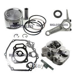 Honda Gx390 Assemblé De Culasse Tige De Piston Moteur Joints Reconstruire Kit