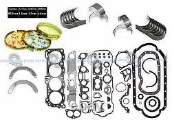 Honda Isuzu 2.6l 4ze1 8-valves Sohc Nouveau Jeu De Joints De Moteur Complet Re-ring Kit