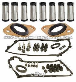 Joints Valve Cover Bougie Tubes Joint Capteur Pour Bmw X5 E60 E64 E65 E66 12pc