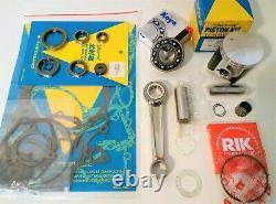 Kit De Reconstruction Complet Kawasaki Kdx200 1989-1994 Joints D'étanchéité Con Rod Piston
