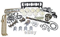 Kit De Reconstruction De Moteur Chevy Master 350 1969-80 Ek1070 Sbc