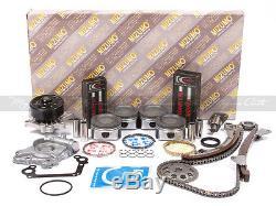 Kit De Reconstruction De Moteur Fit 00-08 Toyota Chevrolet 1.8l Dohc 1zzfe