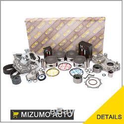 Kit De Reconstruction De Moteur Fit 02-05 Subaru Impreza Wrx Turbo 2.0l Usdm Ej205