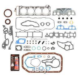 Kit De Reconstruction De Moteur Fit 83-84 Toyota Pick Up Celica 4runner 2.4l Sohc 22r 22re