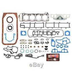 Kit De Reconstruction De Moteur Fit 85-95 Toyota Celica 4runner Pick Up 2.4l Sohc 22r 22re