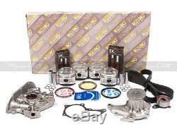 Kit De Reconstruction De Moteur Fit 88-89 Toyota Corolla Gts Geo Priz 1.6l Dact 4age