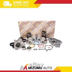 Kit De Reconstruction De Moteur Fit 88-92 Mazda Mx6 626 Sonde Ford Turbo 2.2l Sohc F2-t