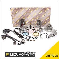 Kit De Reconstruction De Moteur Fit 90-97 Nissan D21 Pick Up 2.4l Sohc Ka24e 12v