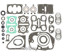 Kit De Reconstruction De Moteur Honda Cb350 Cl350 Sl350 Jeu De Joints + Joints + Segments De Piston