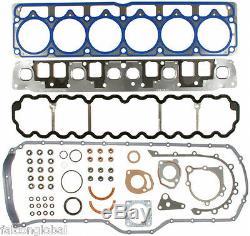 Kit De Reconstruction De Moteur Jeep 4.0 Pistons + Bagues + Distribution + Pompe À Huile + Roulements + Joint 99-06