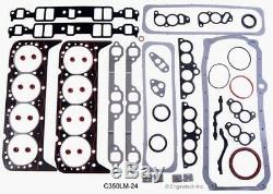 Kit De Reconstruction De Moteur Pour 1993 1994 1995 Sbc Chevy Gm Truck Tbi 350 5.7l V8
