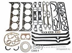 Kit De Reconstruction De Moteur Pour Camion V8 Gm Chevy 305 5,0 L De 1976 À 1985
