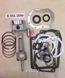 Kit De Reconstruction De Moteur Pour Kohler 16hp K341 Et M16 Avec Une Tige Réelle De 16hp Et Non De 12hp