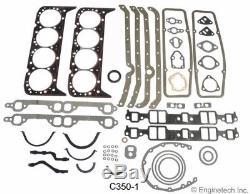 Kit De Reconstruction De Moteur Pour Sbc Chevy Gm Truck 350 1967 Vap 5.7l