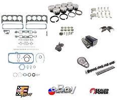 Kit De Reconstruction De Moteur Principal Sbc Chevy 350 Pistons