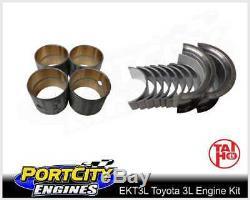 Kit De Reconstruction De Moteur Toyota 4cyl 3l 2.8l Hilux Ln86 Ln106 Ln107 Ln111 Diesel