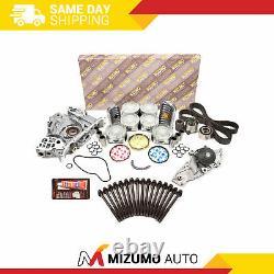 Kit De Reconstruction Du Moteur De Révision Fit 01-04 Acura MDX Honda Odyssey 3.5l J35a3 J35a4