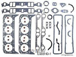 Kit De Remise En État Du Moteur Principal Sbc Chevrolet Truck 350 5,7l Ohv V8 1969-1985