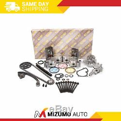 Kit De Réparation De Moteur De Révision, Taille 90-97 Nissan D21 Pickup 2.4l Sohc Ka24e
