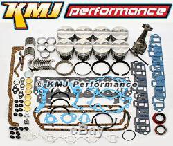 Kit De Révision Générale De Bloc Moteur Ford 289 302 Avec Anneaux Et Roulements De Pistons