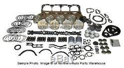 Kit De Révision Générale Pour Moteur Chevrolet 6.2l Diesel 82-91
