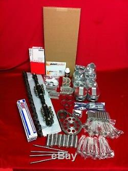 Kit Moteur Pistons Flathead Deluxe Ford 239 + Isky Cam + Anneaux + Valves + Leveurs 51-53
