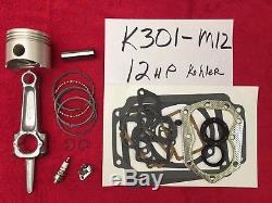 Kohler K301 Kit De Reconstruction De Moteur 12hp Avec Réglage Gratuit