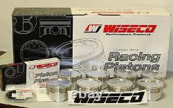 Lt1 383 Stroker Assembly Scat Crank 6 Tiges Wiseco -10cc Dh 030 Pistons 6 Lt1
