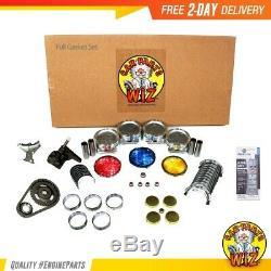 Maître De Réusinage Du Moteur Fits Kit 94-97 Chevrolet Gmc Hombre S10 L4 2.2l Ohv 8v