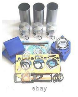 Massey Ferguson 35 35x Tractor Cast Liner Engine Rebuild Kit (cd Build)
