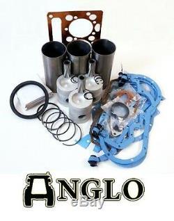 Massey Ferguson Engine Overhaul Kit Reconstruire Mf 135 Ad3.152 Fini Anneau Liner 5