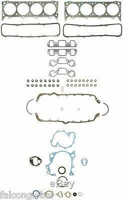 Moteur Amc / Jeep 401 Interprète Kit Forged Hi-comp Pistons + Anneaux + Roulements + Timing
