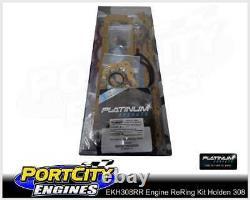 Moteur Re Ring Rebuild Kit Holden V8 308 Red Kingswood Ht Hg Hq Hj Hx Hz