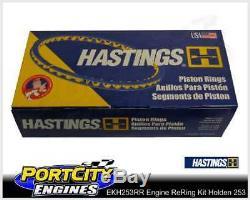 Moteur Re-ring Rebuild Kit Holden V8 253 Red Kingswood Ht Hg Hq Hj Hx Hz Wb