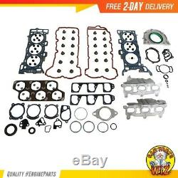 Moteur Rebuild Kit Convient 04-07 Buick Cadillac Cts Lacrosse V6 3.6l Dact 24v Ly7