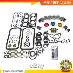 Moteur Rebuild Kit Convient 88-95 Toyota 4runner V6 Sohc De Ramassage 3.0l 12v 3vze