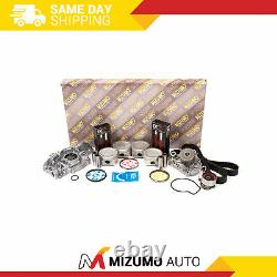 Moteur Rebuild Kit Fit 01-05 Honda CIVIC Ex Hx Vtec 1.7l Sohc D17a2 D17a6