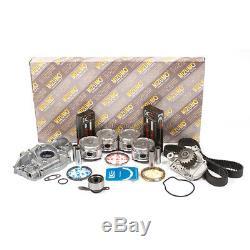 Moteur Rebuild Kit Fit 92-95 Honda CIVIC Del Sol Vtec 1.6 D16z6