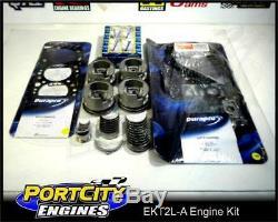 Moteur Rebuild Kit Toyota 2l 4cyl Hilux Surf Hiace 2.4l Jusqu'à 08/88 Wo / S Pistons