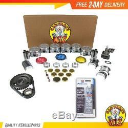 Moteur Reconstruire Fits Kit 87-92 Chevrolet Gmc Astro Bravada V6 Ohv 12v 4.3l