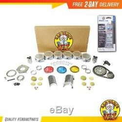 Moteur Reconstruire Fits Kit 97-02 Chevrolet Camaro Pontiac Firebird V6 3.8l Ohv 12v