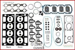 Moteur Reconstruire Kit Avec Flat Top Pistons Pour 2003 2004 Chevrolet Gmc Ls 325 5.3l