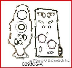 Moteur Reconstruire Kit De Overhaul Pour Chevrolet Gmc Lq4 2001 À 2003 364 V8 6.0l Vin U