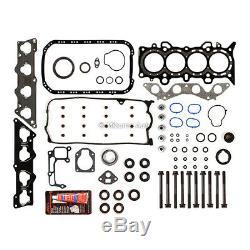 Moteur Reconstruire Kit Révision Fit 01-05 Honda CIVIC DX LX 1.7 Sohc D17a1